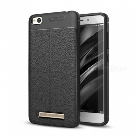 Dayspirit Lichee Pattern TPU Back Case for Xiaomi Redmi 4A - Black