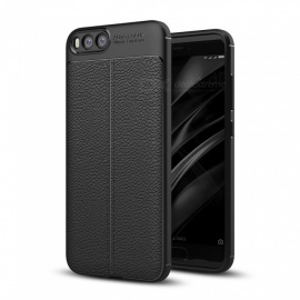 Dayspirit Lichee Pattern Protective TPU Back Cover Case for Xiaomi Mi 6 - Black