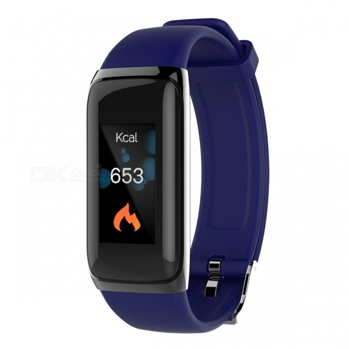BY22S Color LCD Screen Bluetooth Smart Bracelet Continuous Heart Rate Monitor IP67 Waterproof Smart Band - BlueSmart Bracelets<br>ColorBlueModelBY22SQuantity1 setMaterialPlasticWater-proofIP67Bluetooth VersionBluetooth V4.0Touch Screen TypeOthers,LCDCompatible OSAndroid 4.4 / IOS 8.0 and aboveBattery Capacity80 mAhBattery TypeLi-polymer batteryStandby Time5-7 daysPacking List1 x Smart Band1 x User Manual<br>