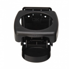 Universal Car Vehicle Foldable Drink Cup Coffee Bottle Holder Car Accessries - Black