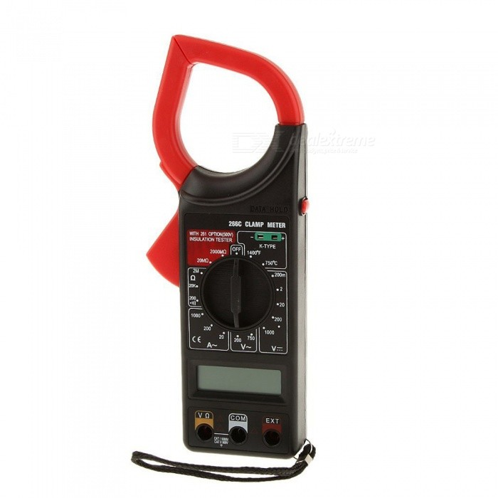 Clamp Style Multimeter : Dt c clamp style multimeter instrument meter