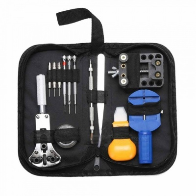 ZHAOYAO 13PCS Watchmaker Watch Case Opening Repair Tool Kit