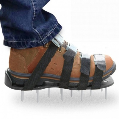 Lawn Aerator Shoes, Aerating Lawn Soil Sandal