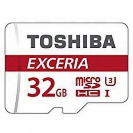 Toshiba Exceria M302 32GB Micro SD Memory Card with Read Speed 90MB/s 4K - THN-M302R0320C4