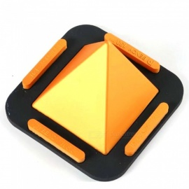 MAIKOU Universal Pyramid Shape Flat Silicone Phone Holder - Golden