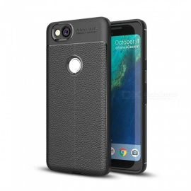 Dayspirit Lichee Pattern Protective TPU Back Cover Case for Google Pixel 2 - Black