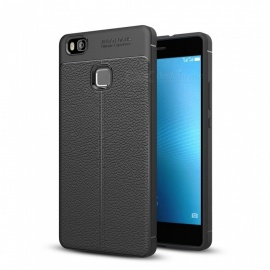 Dayspirit Lichee Pattern Protective TPU Back Cover Case for Huawei P9 Lite - Black