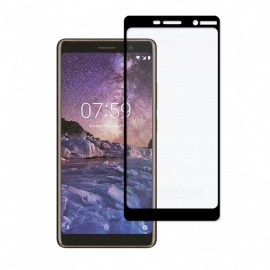 Dayspirit Tempered Glass Screen Protector for Nokia 7 Plus - Black