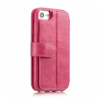 Measy Fashionable PU Leather Wallet Case for IPHONE 7/8 - Pink