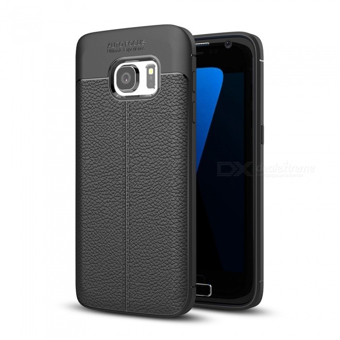Dayspirit Lichdee Pattern Protective TPU Back Cover Case for Samsung Galaxy S7 - BlackTPU Cases<br>ColorBlackModelN/AMaterialTPUQuantity1 pieceShade Of ColorBlackCompatible ModelsSamsung Galaxy S7Packing List1 x Case<br>