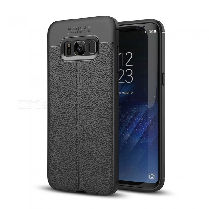 Dayspirit Lichdee Pattern Protective TPU Back Cover Case for Samsung Galaxy S8 Plus, G955 - BlackTPU Cases<br>ColorBlackModelN/AMaterialTPUQuantity1 pieceShade Of ColorBlackCompatible ModelsSamsung Galaxy S8 Plus , G955Packing List1 x Case<br>