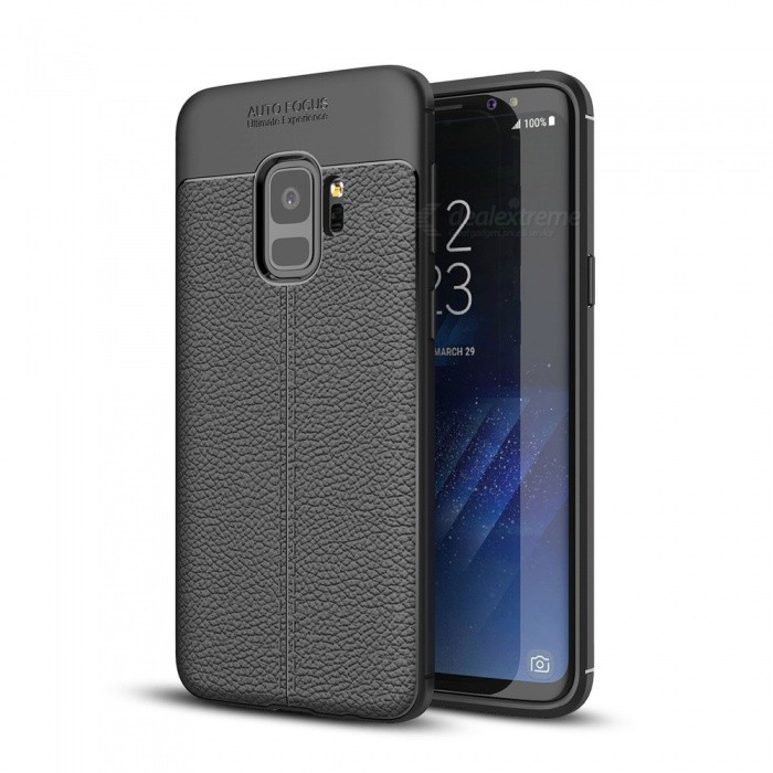 Dayspirit Lichdee Pattern Protective TPU Back Cover Case for Samsung Galaxy S9 - BlackTPU Cases<br>ColorBlackModelN/AMaterialTPUQuantity1 pieceShade Of ColorBlackCompatible ModelsSamsung Galaxy S9Packing List1 x Case<br>