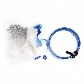 CTSmart Elastic Outdoor Hand Throwing Fishing Net - Blue (420 Type)