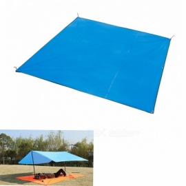 NatureHike Folding 3-4 Person Camping Shelter / Mat / Sun Shelter - Royal Blue