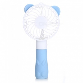 Portable Handheld Cartoon Cute Mini USB Cooling Fan / Cooler - Blue