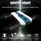 JJRC H61 SPOTLIGHT Wi-Fi FPV Foldable RC Quadcopter BNF with 720P HD Camera, Optical Flow Positioning - White