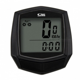 Sunding SD-581 Multifunction Wireless Bicycle Stopwatch Odometer Speedometer