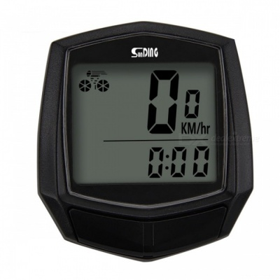 Sunding SD-581 Multifunction Bicycle Stopwatch Odometer Speedometer