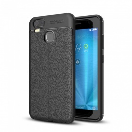 Dayspirit Lichdee Pattern Protective TPU Back Cover Case for Asus Zenfone 3 Zoom ZE553KL - Black