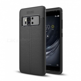 Dayspirit Lichdee Pattern Protective TPU Back Cover Case for Asus Zenfone AR ZS571KL - Black