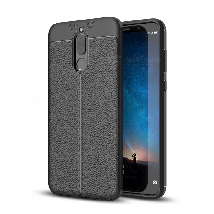 Dayspirit Lichdee Pattern Protective TPU Back Cover Case for Huawei Mate 10 Lite - Black