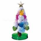 HONEST Magic Growing Paper Tree Novelty Christmas Blossom Snowflakes Tree Toys Gifts - Multicolor