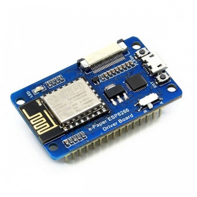 Waveshare Universal e-Paper Raw Panel Driver Board, ESP8266 Wi-Fi Wireless
