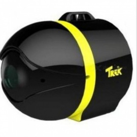 "TREK Ai-Ball Mini 1/3"" CMOS 300KP Networking Wi-Fi IP Camera for IPHONE IPAD Android Phone - Black + Yellow"