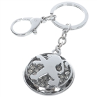 Stainless Steel Keychain with Car Logo - Peugeot