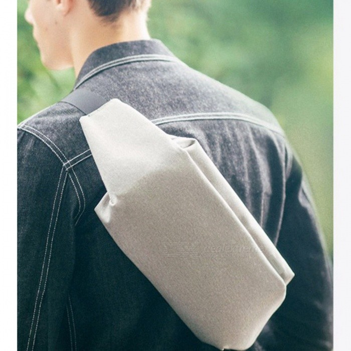Meizu Small Size Shoulder Bag Urban Leisure Chest Pack Backpack For Men Women Gray Free