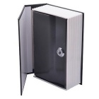 Disguised Dictionary Book Safe Home Security Cash Box Lock - Big Size (Black)