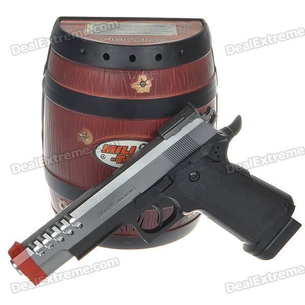 Pirata Gun Toy com Flash Light & Efeitos Sonoros