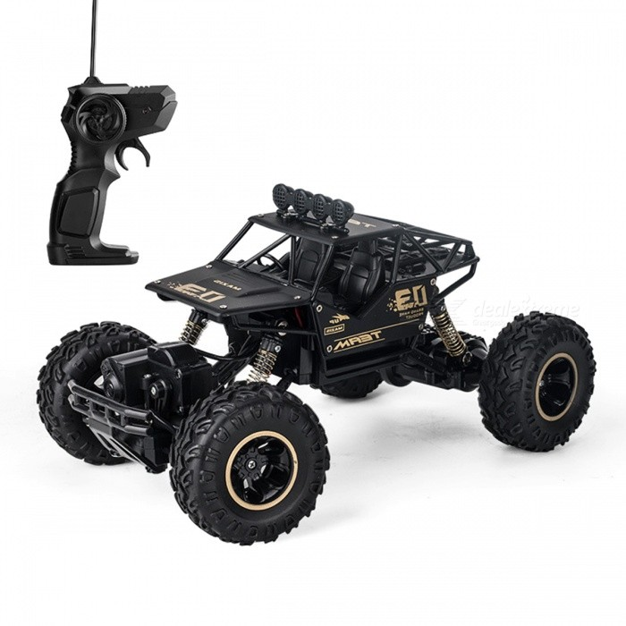Alloy Four-Wheel Drive RC Car Climbing Dirt Bike Buggy Radio Remote Control High Speed Racing Car Model Toys For Kids
