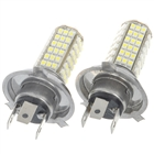 H4 5W 102-SMD LED 6500K 460-Lumen White Fog Lights for Car (12V/Pair)