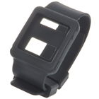 Wrist Watch Style Protective Silicone Case with Band for Ipod Nano 6 - Black