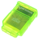USB Mini SDHC Micro SD / TF Card Reader - Green (480Mbps/8GB)