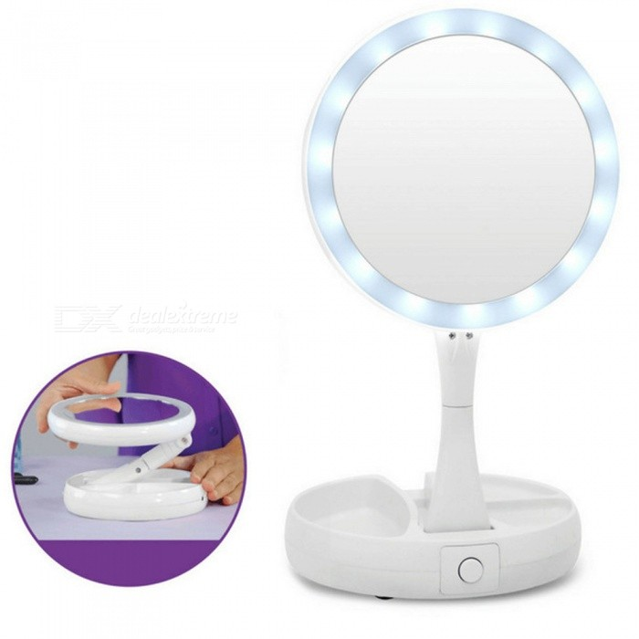 Professional Portable Foldable 10x Led Makeup Vanity