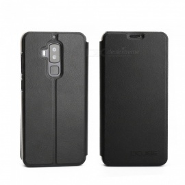 OCUBE Protective Flip-open PU Leather Case for Homtom S8 5.7 Inch - Black
