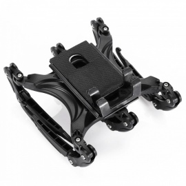 Creative Six-Claw Style Flexible Plastic Mount Holder for Tablet, Mobile Phone, GPS - Black