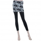 Fashion Women Tight Leggings Pants with Spots Pattern Skimpy Skirts (155~165cm/24~30inch)