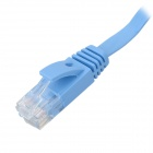 Cat.6 RJ-45 Giga-Speed Ultra Flat LAN Network Cable - Blue (2M)