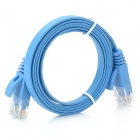 Cat.6 RJ-45 Giga-Speed Ultra Flat LAN Network Cable (1M)