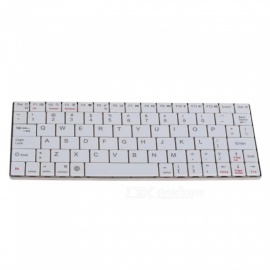 Aluminum Ultra Thin Wireless Bluetooth V3.0 Keyboard for Computer PC Phone, Android IOS Windows