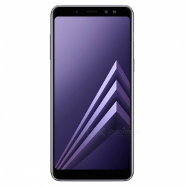 "Samsung Galaxy A8 2018 A530FD Dual SIM 5.6"" Smart Phone with 4GB RAM, 64GB ROM - Grey"