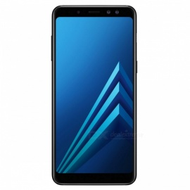 "Samsung Galaxy A8 Plus 2018 A730FD Dual SIM 6.0"" Smart Phone with 6GB RAM, 64GB ROM - Black"