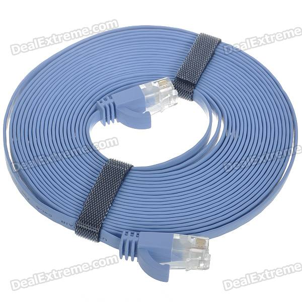 Cat.6 RJ-45 Ultra Flat LAN Network Cable (5M)