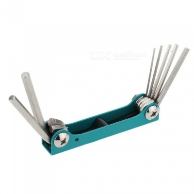 OJADE Folding Type Six-Angle Wrench Group (7 Groups), 1.5~6mm