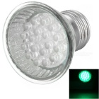 18-LED E27 Light Bulb (110V Green)