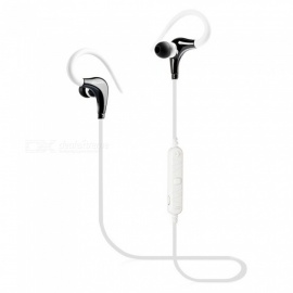 Awei A890BL Bluetooth Wireless Earphone Stereo Noise Reduction Headset with Microphone - White