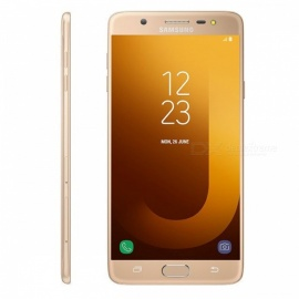 "Samsung Galaxy J7 Max G615FD 5.7"" Smart Phone with 4GB RAM, 32GB ROM - Golden"